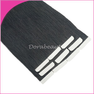 Double Side Adhesive Human Remy Hair Extensions pictures & photos
