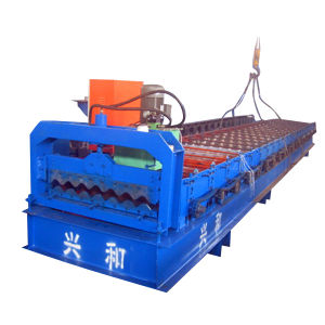 Corrugated Roof Panel Roll Forming Machine (XH780)