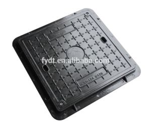 En124 BS Composite SMC Walkside Skidproof Light Plastic BMC Manhole Cover