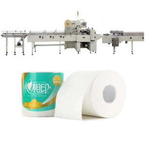 Single Roll Toilet Paper Machinery Tissue Roll Packing Machine pictures & photos