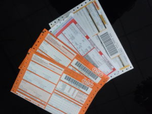 Carbonless Paper Express Waybill Form pictures & photos