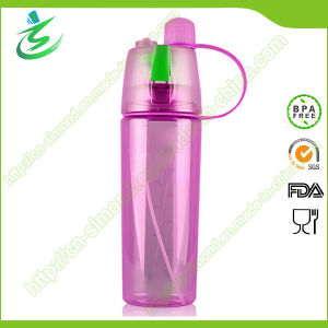 600ml Sports Mist Water Bottle with Spray Custom Logo pictures & photos