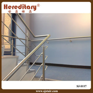 Stainless Steel Rod Railing / Staircase Handrail System (SJ-S117) pictures & photos