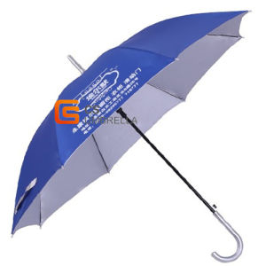 23 Inch Black Color Metal Frame Adverting Umbrella (YS-1044A) pictures & photos