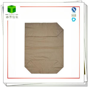 Brown Kraft Valve Paper Bag for Binder Packaging pictures & photos