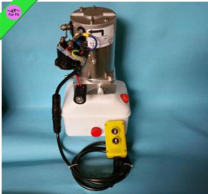 6-12 Tons Small Hydraulic Pump 12VDC with Switch Hydraulic Power Pack
