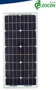 Small Power 20W Photovoltaic Customized Solar Panels Monocrystalline Solar Module pictures & photos