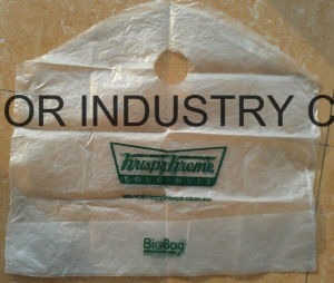 HDPE Custom Printed Die Cut Handle Bag pictures & photos
