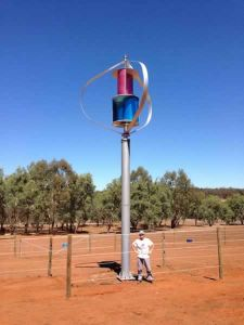Ce Maglev Vertical Wind Generator Could Afford 65m/S Strong Wind pictures & photos
