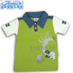 Zaxwear 2014 New Style Cotton Bamboo Boys Stylish T-Shirt pictures & photos