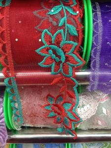 New Design Embroidery Lace / Embroidery Fabric/ Good Quality/ Best Pric