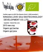 Herbal Organic No Hazard Low-Fat Goji Juice