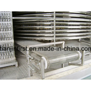 Factory Directly Supply Tunnel Quick Freezer for Dumpling pictures & photos