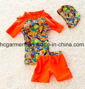 New Design Swimming Suit for Kids, Boy′s Swimming T Shirts and Pants pictures & photos