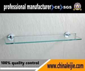 High Quality Stainless Steel Bathroom Fittings Series Glass Shelf for Hotel (LJ55412) pictures & photos
