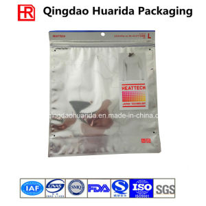 Flexible Aluminum Foil Plastic Garment Packing Bag with Zipper pictures & photos
