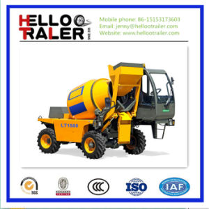 Mini Mobile Self Loading Concrete Mixer for Sale pictures & photos
