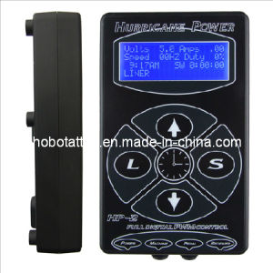 High Quality Hurricane LCD Digital Tattoo Power Supply (HB1005-37) pictures & photos