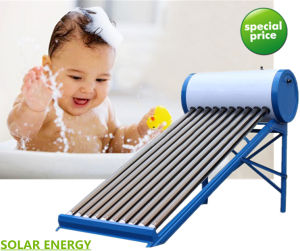 Non Pressure Solar Hot Water Heating System Vacuum Tube Solar Water Heater pictures & photos