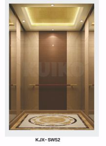 Kjx-Sw52commercial Elevator Woodiness Mirror Hairline Sts pictures & photos