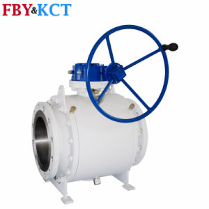 Different Color Trunnion Mounted Forged Ball Valve