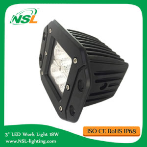 Flush Mount 16W CREE LED Work Light off Road Truck pictures & photos