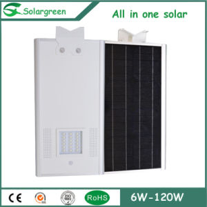 Easy Installation 8W-120W All in One Integrated Solar Street Lighting pictures & photos