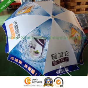 2.2m Outdoor Sun Umbrella with Customized Printed Logos (BU-0048W) pictures & photos