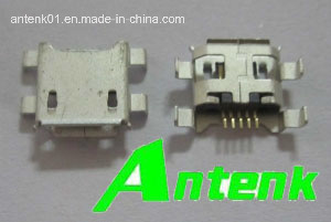 Micro USB Connectors B Type Receptacle, Sink Reverse Type pictures & photos