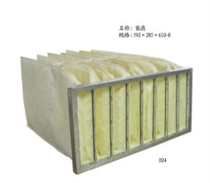 Medium Efficiency Bag Air Filter pictures & photos