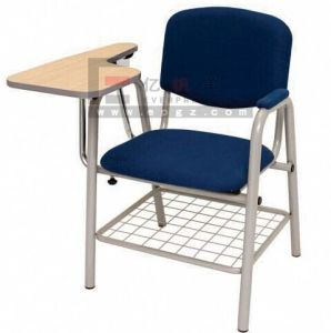 Padded Folding Chair, Student Mesh Chair, Student Chair with Writing Pad pictures & photos