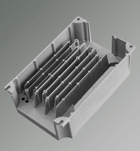 Aluminum ADC-12 Material Aluminum Casting Foundry Cooling Fins pictures & photos