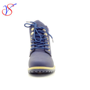 2016 New Style Injection Women Work Boots Shoes for Job with Quick Release (SVWK-1609-021 BLUE) pictures & photos