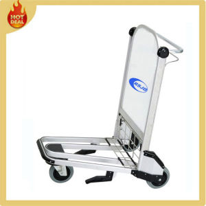 Aluminum Alloy Airport Hand Luggage Carts Trolley (LG3D) pictures & photos