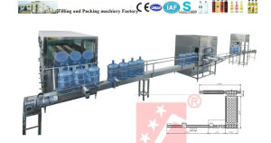 5 Gallon Bottling Machine, Mineral Water Bottling Complete Plant (QGF-450) pictures & photos
