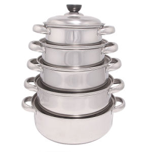 High Quality Stainless Steel Cookware Set pictures & photos