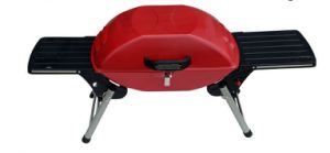 Red Portable Gas BBQ Grill