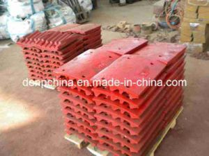 Sand Making Jaw Plate/High Manganese Jaw Plate pictures & photos