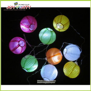 "3"" Multicolor Paper Lantern String Fairy Light Party Decoration pictures & photos"