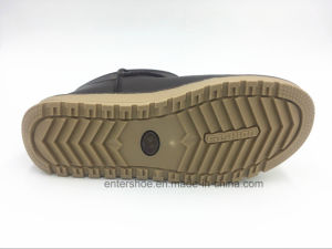 Winter Warm Women PU Snow Boots with PVC Outsole (ET-XK160238W) pictures & photos