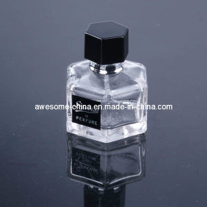 Octagonal 50ml Glass Perfume Bottle