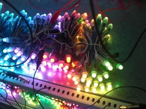 12mm Digital RGB Full Color LED Pixel with IC (programmable) pictures & photos