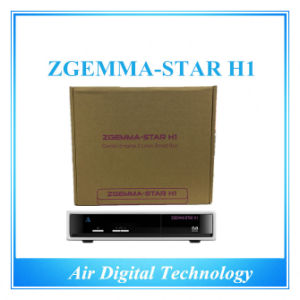 Zgemma-Star H1 Linux Software Download Satellite and Cable Receiver pictures & photos