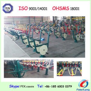 Seated Outdoor Gym Park Amusement Fitness Equipment pictures & photos
