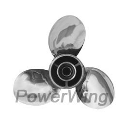 Powerwing Stainless Steel Marine Boat Outboard Propeller for YAMAHA Engine 9.9-15HP pictures & photos