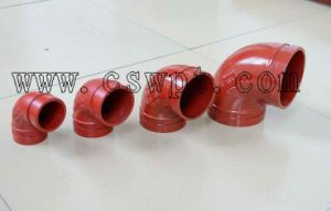 FM UL Approved High Quality Grooved Elbow for Fire Protection