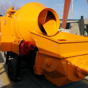 Electric/Diesel Concrete Mixer with Pump Jbt15 (15m3/h) in China pictures & photos