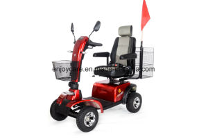 800W Taiwan Motor Adult Electric Mobility Scooter with Big Rear Basket Eml48A pictures & photos
