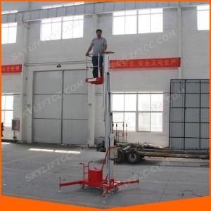 10m Aluminum Alloy Single Mast Personal Lift for Building Maintenance (SJL-10) pictures & photos