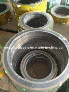 Spiral Woud Gasket with Inner and Outer Ring pictures & photos